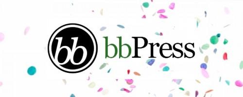 bbpress confeti