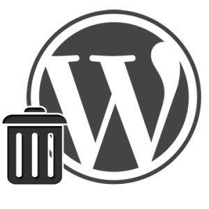 Enviar a la papelera desde la barra de admin de WordPress