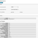 Captura de ajustes de rendimiento de aiosp 2