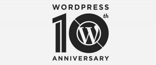 aniversario wordpress 10 años