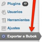 exportar a bubok 1
