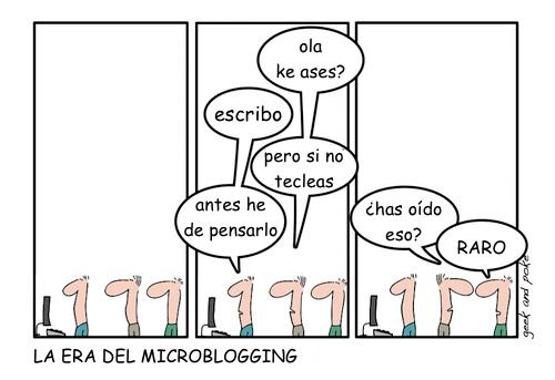 la era del microblogging