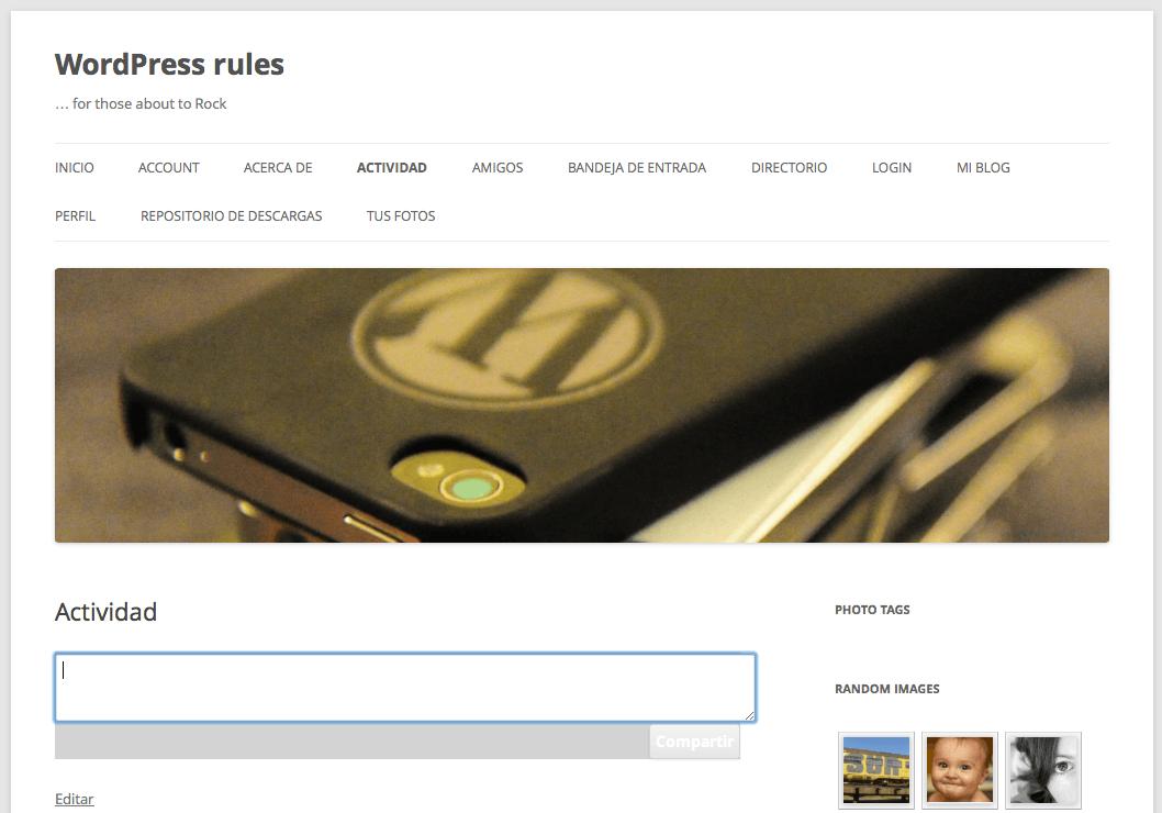 Mingle, la manera más sencilla de convertir WordPress en una red ...