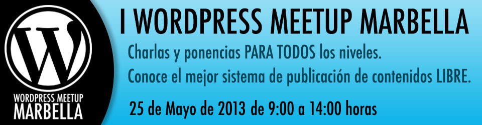 Primer meetup WordPress en Marbella