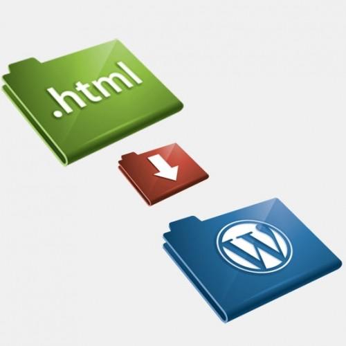 html a wordpress