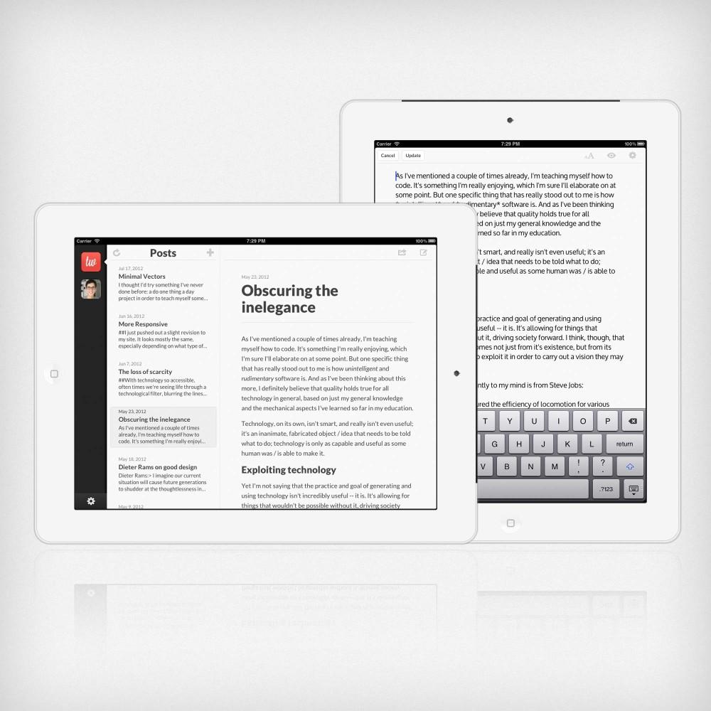 Poster + Automattic = WordPress móvil con integración de Dropbox y más