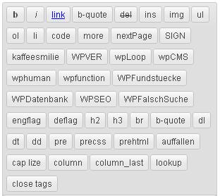 Añadir quicktags al editor de WordPress de manera sencilla