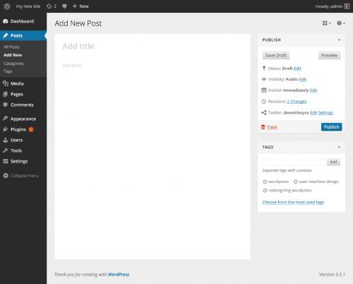 Futuro editor WordPress (v 2)