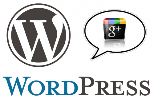 integración wordpress google plus