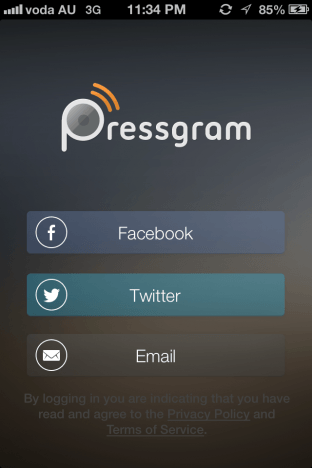 pressgram login