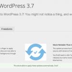 WordPress 3.7 la semana que viene
