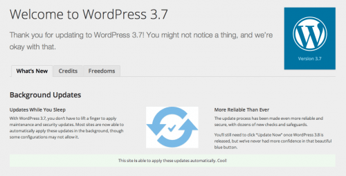wordpress 3.7 rc1