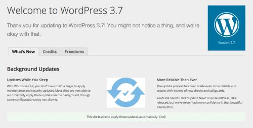 wordpress 3.7 rc1