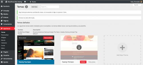 apariencia temas wordpress 3.8
