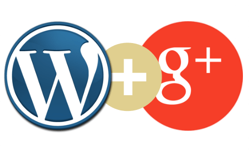 conexion wordpress google+