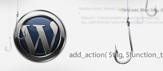 Nuevas acciones y filtros de WordPress 3.8