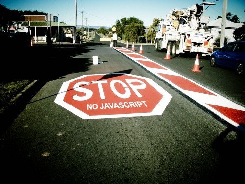 stop javascript