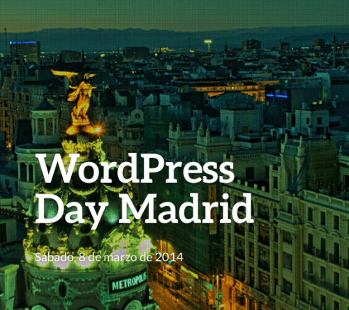 wordpress day madrid 2014