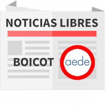 Boicot a los medios de AEDE
