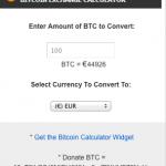 Calculadora bit coins