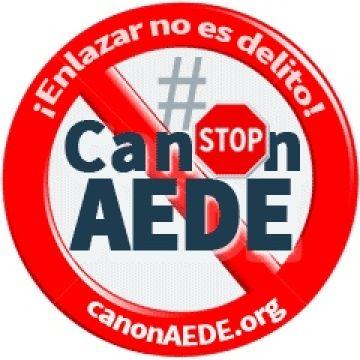 Bloquear el canon AEDE – CEDRO ¡Enlazar no es delito! #canonAEDE