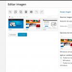 editar imagen en navegador de adjuntos de wordpress 3.9