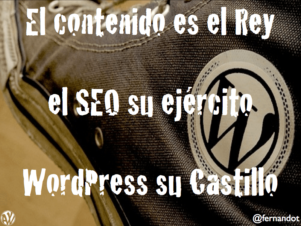 WordPress y el SEO (WordPress Day Madrid 2014)