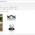 vista previa de galerías en el editor de wordpress 3.9