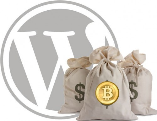 wordpress bitcoins