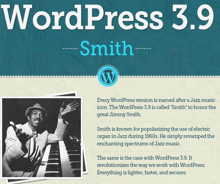 WordPress 3.9: 200 cambios en una sola infografía