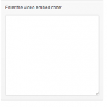 featured video code