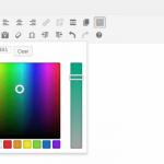 selector color wordpress 4.0