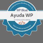 ¡Acabemos con los temas WordPress hinchados!