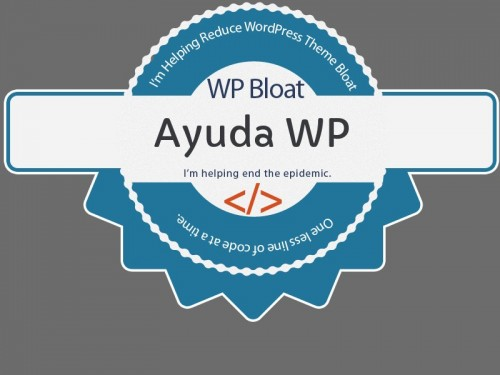 wp bloat ayudawp