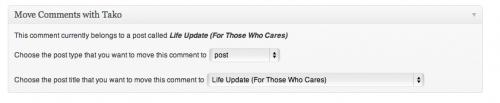 move comments wordpress