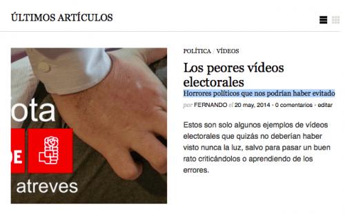 subtitulo wordpress