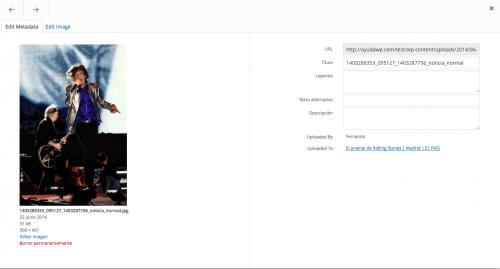 Nuevo navegador de adjuntos