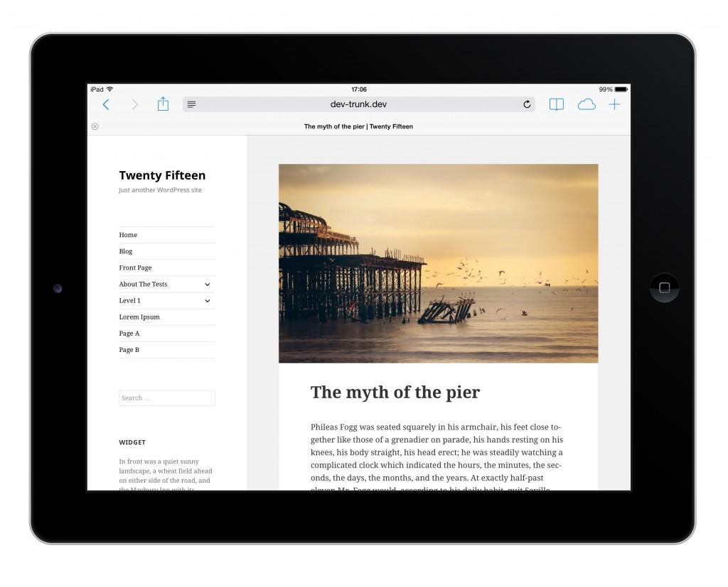 Twenty Fifteen: el nuevo tema por defecto de WordPress vuelve a los blogs