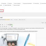 Quitar el editor ampliado de WordPress 4.0