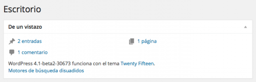 wordpress 4.1 beta 2