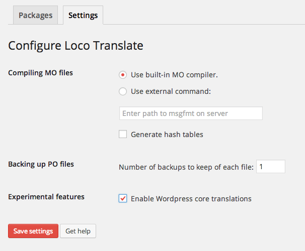 ajustes loco translate wordpress