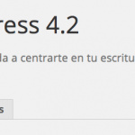 WordPress 4.2 a punto para el personalizador de menús