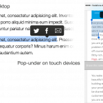 compartir seleccion texto wordpress