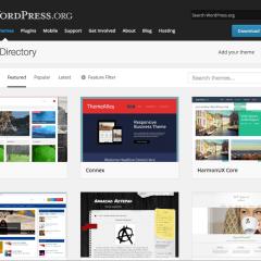 Rediseño del directorio de temas de WordPress.org