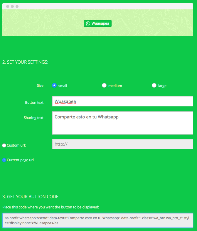 crear botón para compartir en whatsapp desde WordPress