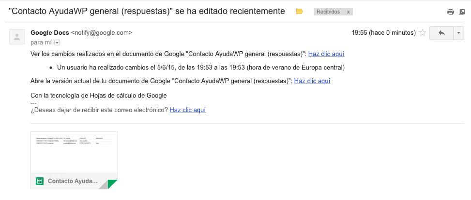 Crear un formulario de contacto con Google Drive que te avise de los ...