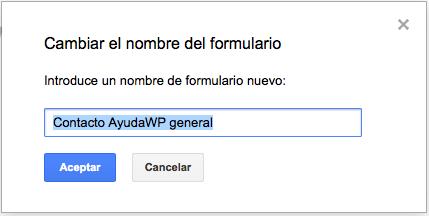 2 nombre formulario