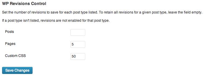 Cómo eliminar o controlar las revisiones de entrada • Ayuda WordPress