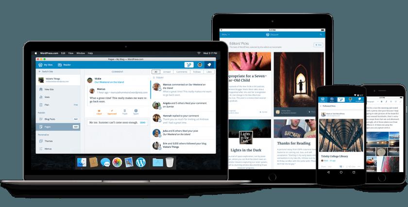 calypso WordPress.com