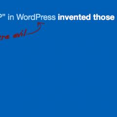 Escribe bien siempre WordPress